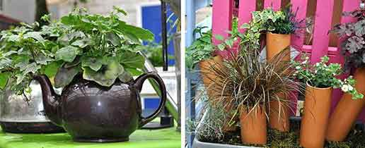 Recycling and Upcycling - Burston Garden Centre