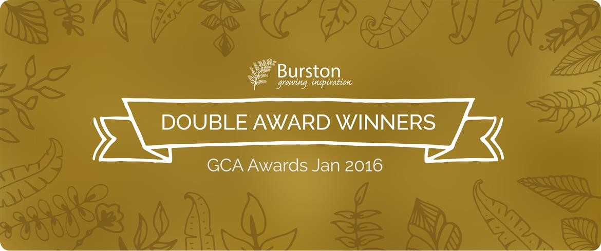 Burston Garden Centre at the Garden Centre Association's (GCA) Annual Awards