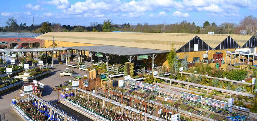 Burston Garden Centre - overview