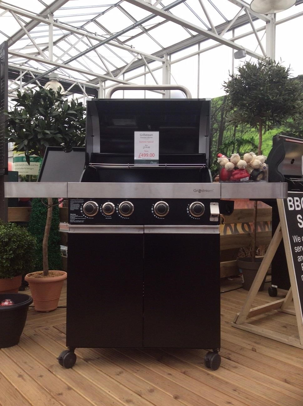 Grillstream 2 burner roaster BBQ at Burston Garden Centre