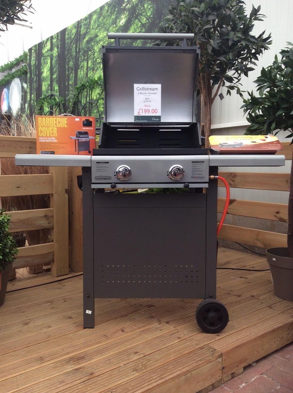 Grillstream 4 burner roaster BBQ at Burston Garden Centre