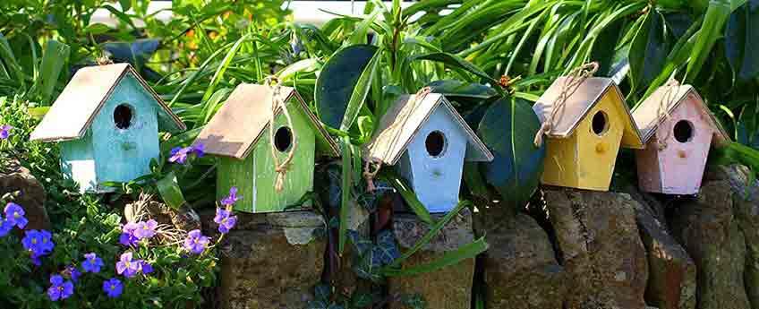 Bird Nesting Boxes - Burston Garden Centre