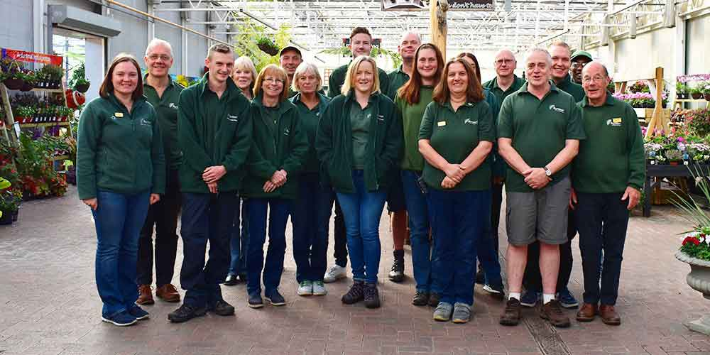 Burston Garden Centre Team Photo