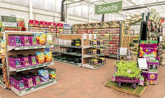 Gardening Jobs for April - Grass and Plant Seeds at Burston Garden Centre