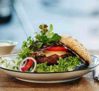 Backyard Burger Recipe - Burston Garden Centre Blog
