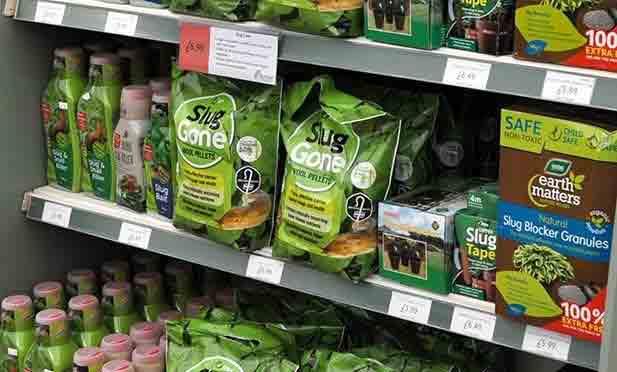 June jobs for the garden - slug gone pestiside