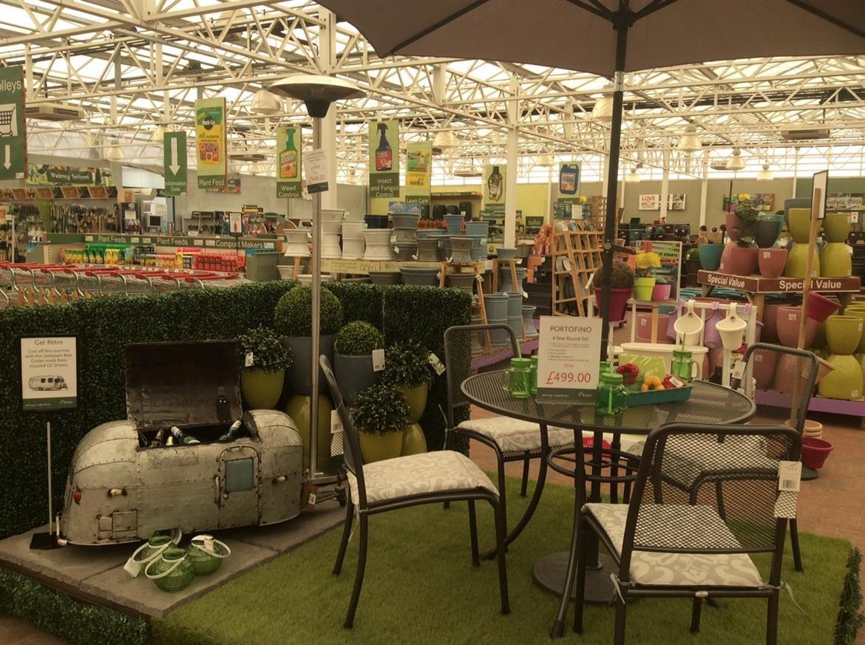 Small Portofino - Outdoor table and chairs - BBQ Sale at Burston Garden Centre