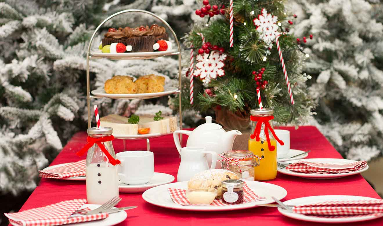 Burston Garden Centre - Winter Wonderland Afternoon Tea