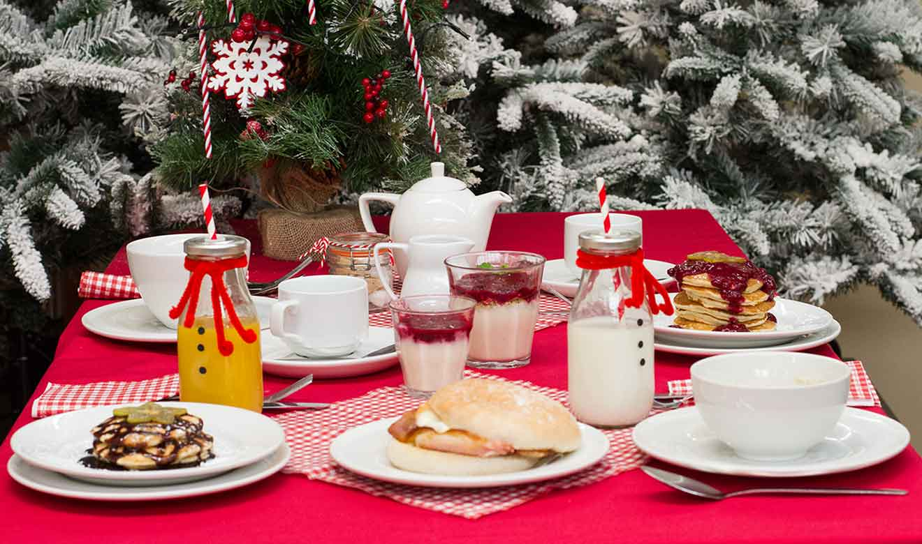 Burston Garden Centre - Festive Breakfast