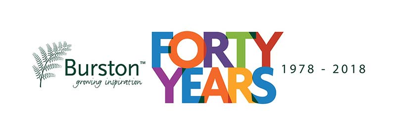 Burstons 40th Anniversary - 40 Years of Burston Garden Centre