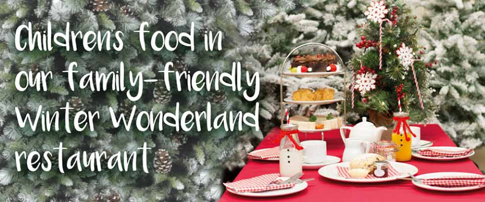 Kids Winter Wonderland Restaurant at Burston Garden Centre