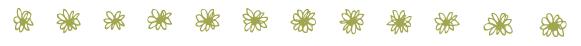 Divider - Flowers