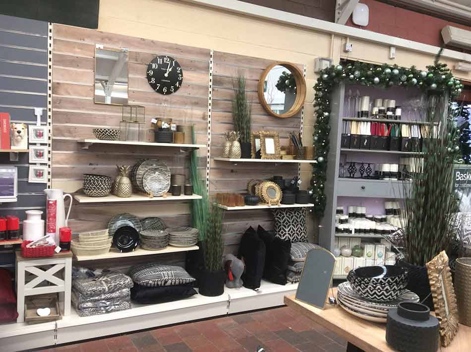 Indoor Living Dept at Burston Garden Centre