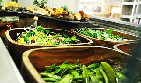 Burston Garden Centre Restaurant - Salad Bar