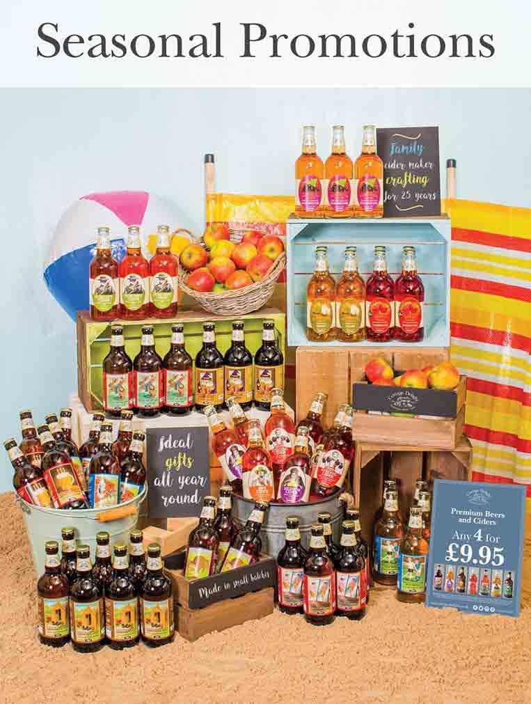 seasonal promotions at Burston Garden Centre