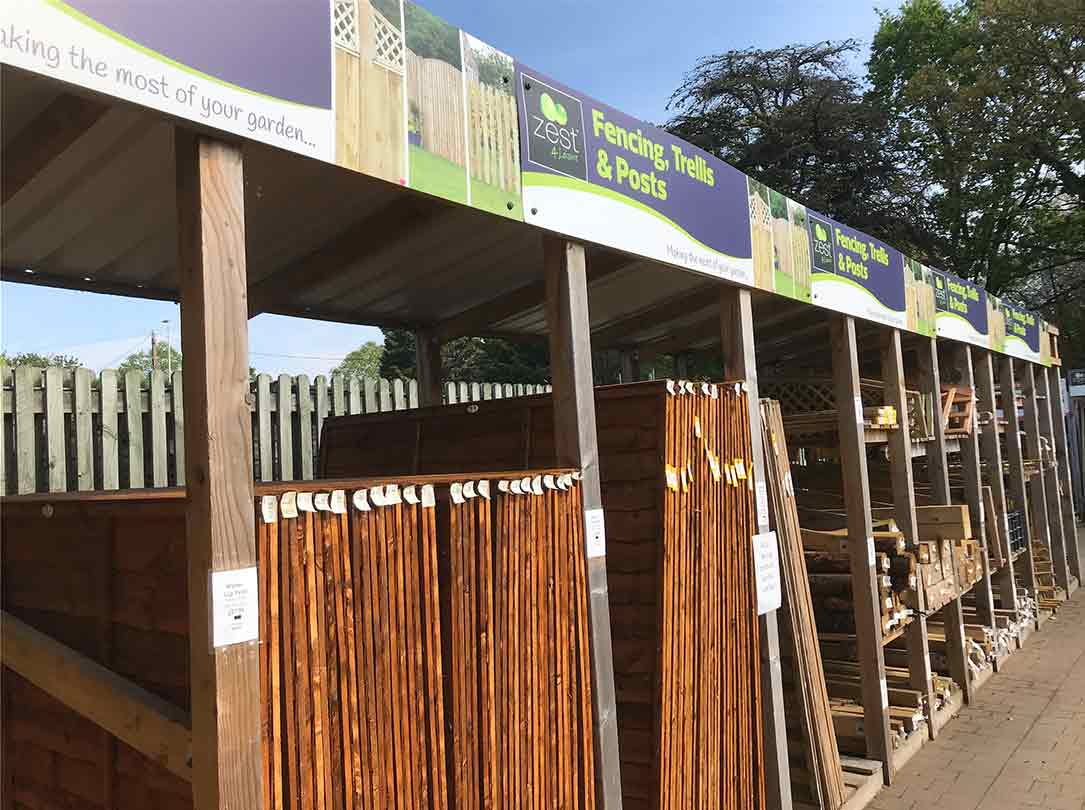 Buy Fencing Panels Trellis at Burston Garden Centre