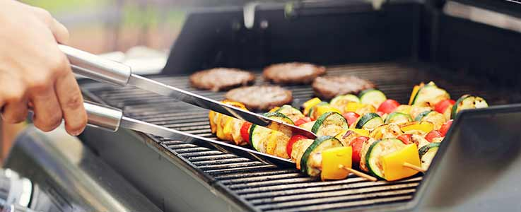 Gas BBQ from Burston