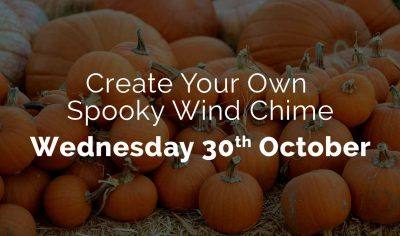 Create your own spooky -wind chime - 30th October