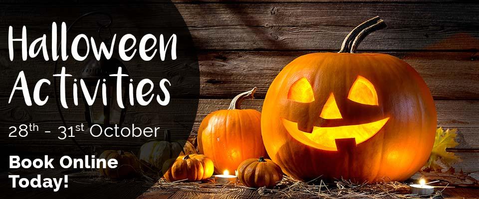 Halloween Activities Banner