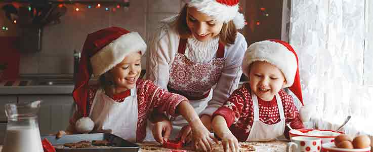 Christmas baking - Burston blog
