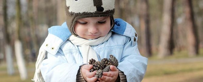 Kid's Corner – Make your own pinecone bird feeder