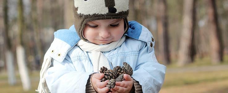 Kid's Corner – Make your own pinecone bird feeder