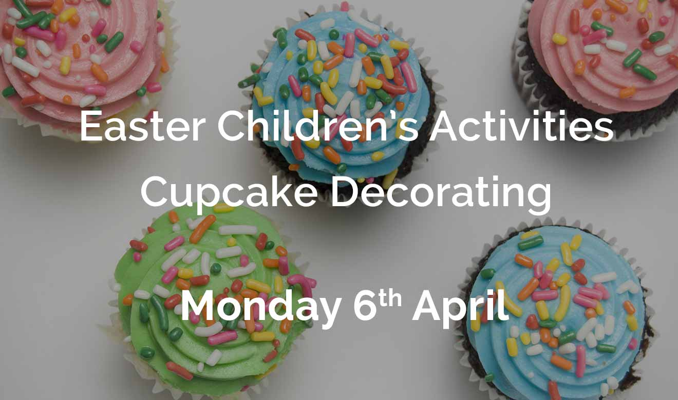 Easter Children's Activities - Cupcake decorating- 6th April 2020