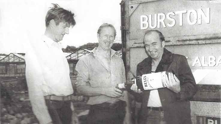 A brief history of Burston's