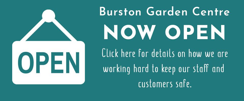 Burston Opening Announcement Banner