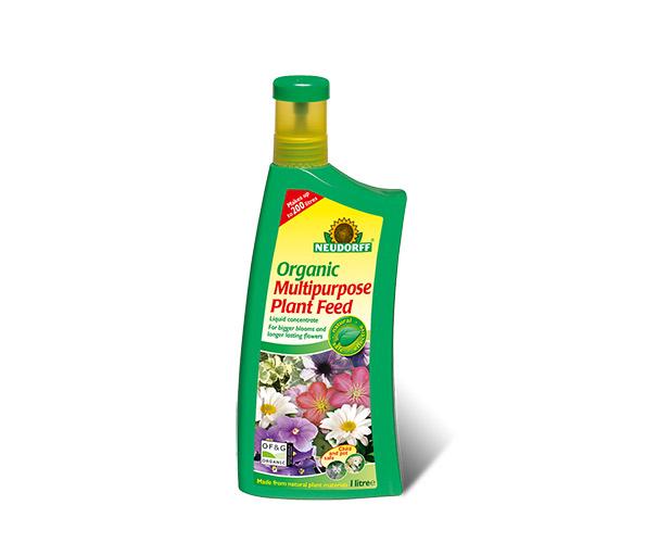 Neudorff Organic plant feed, from: £5.99